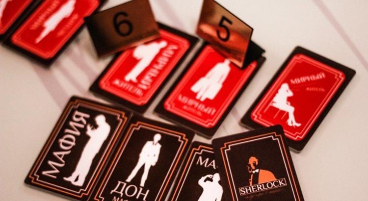 Карточки для мафии от GMgroup