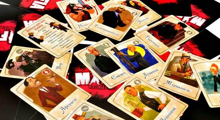 Настольная игра Мафия вся семья в сборе