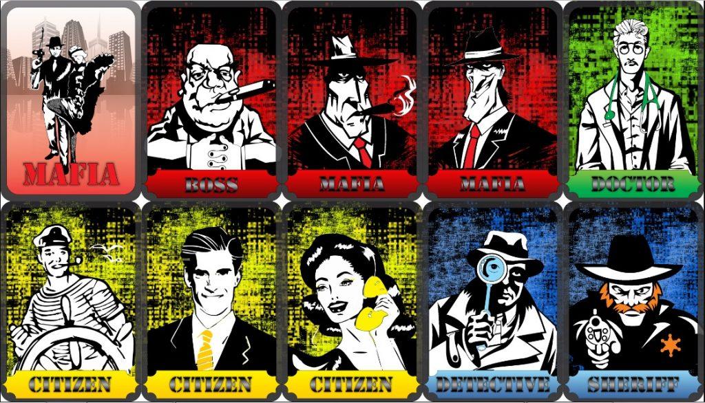 Карты для игры в мафию фото