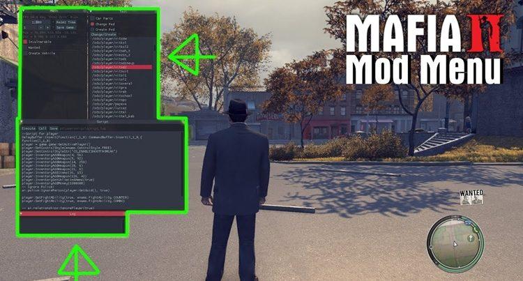 Мафия 2 как вводить коды