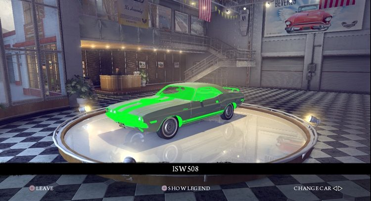 Почему в Мафии 2 зеленые текстуры машин