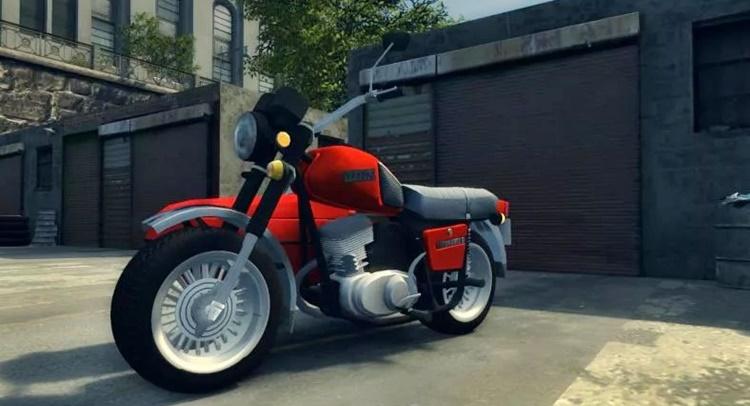 Почему в Мафии 2 нет мотоциклов